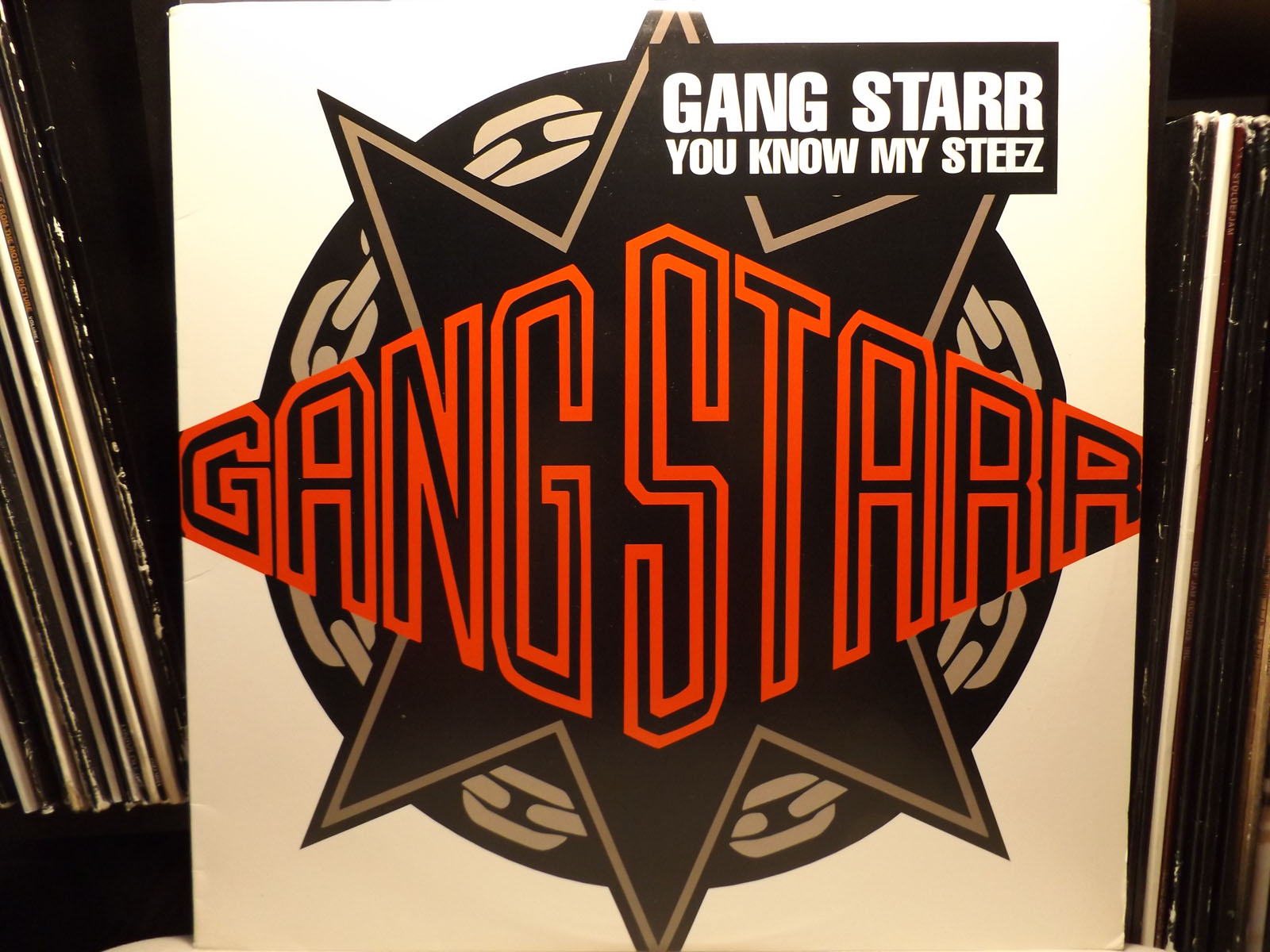 Details about GANG STARR - YOU KNOW MY STEEZ / SO WASSUP?! (12